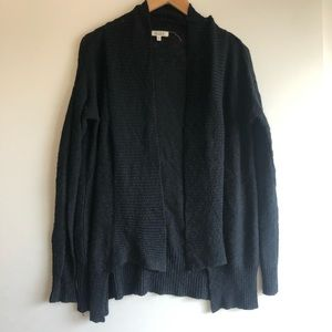 3/$25 SALE Black Knit Open Cardigan Sweater